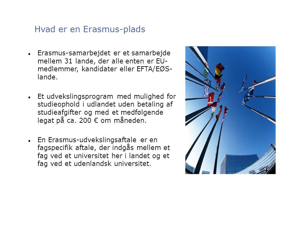 Hvad er en Erasmus-plads