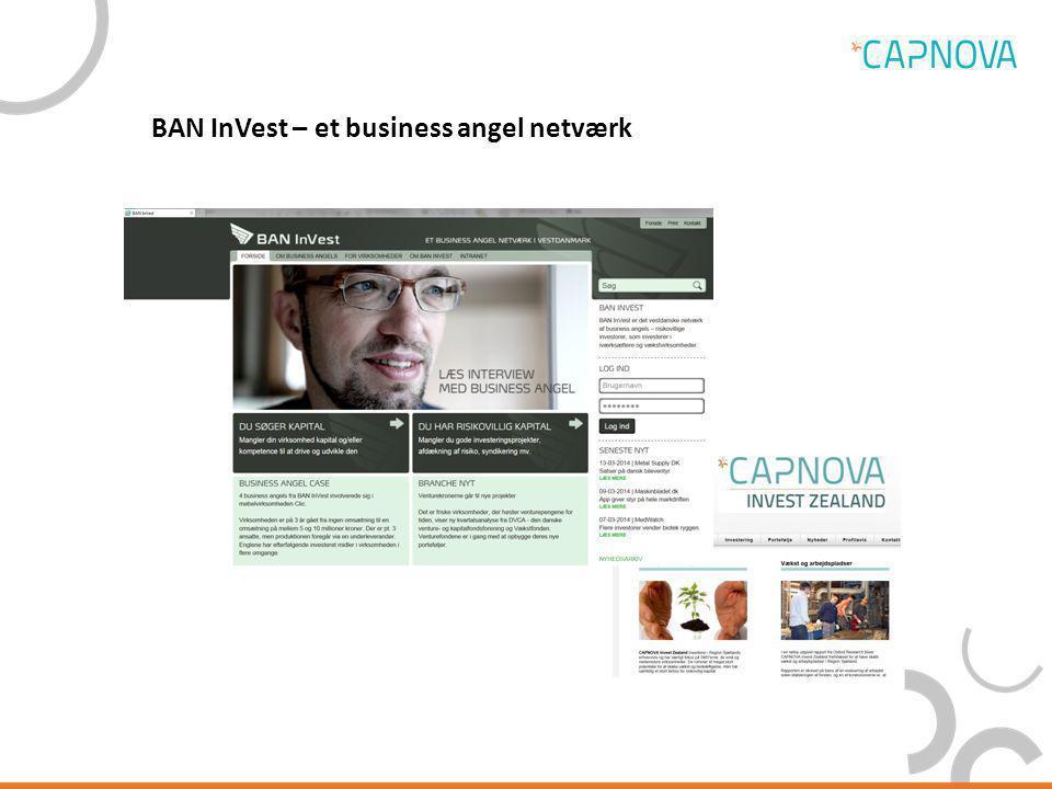 BAN InVest – et business angel netværk