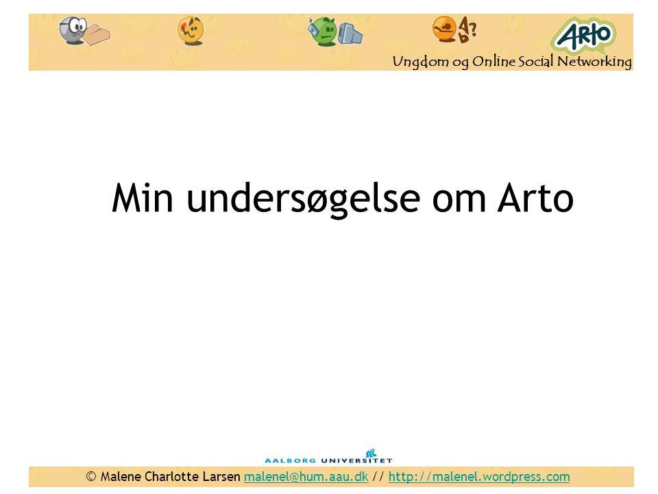Min undersøgelse om Arto
