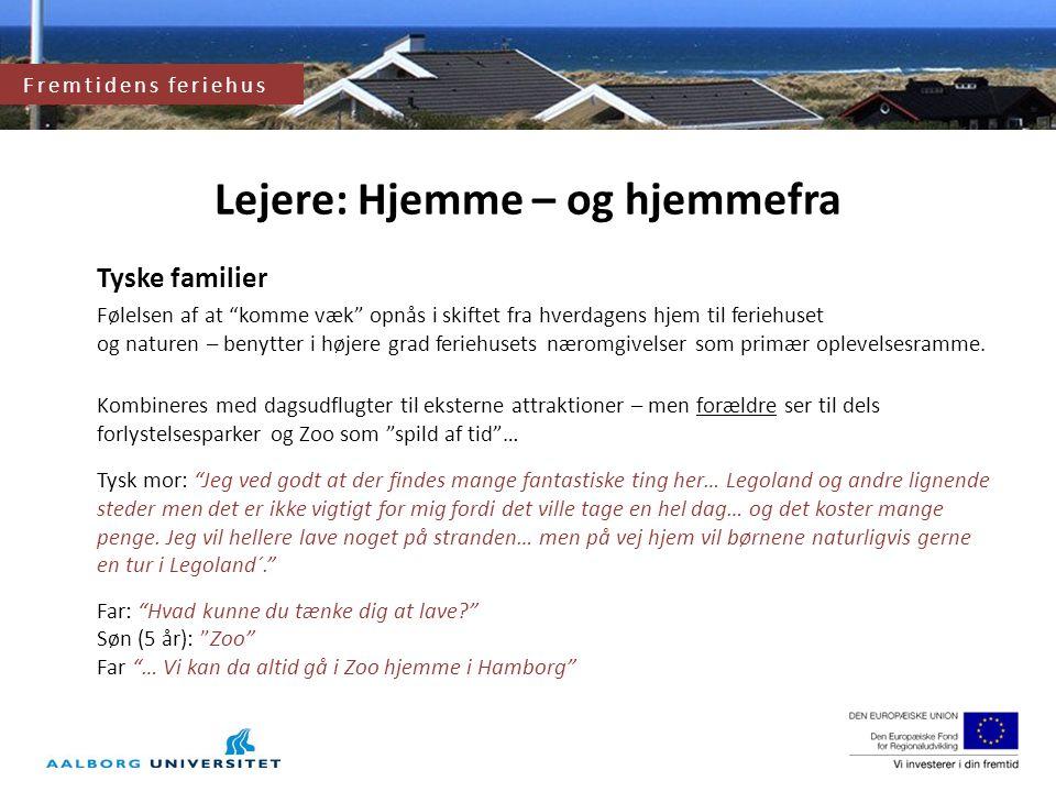 Lejere: Hjemme – og hjemmefra