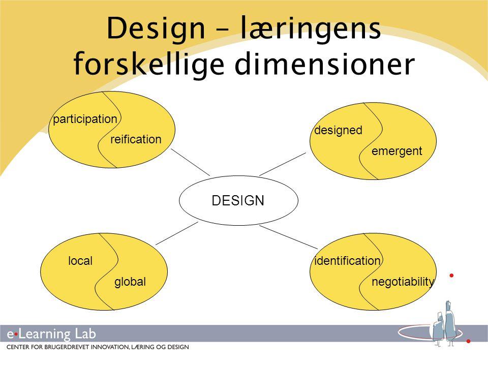 Design – læringens forskellige dimensioner