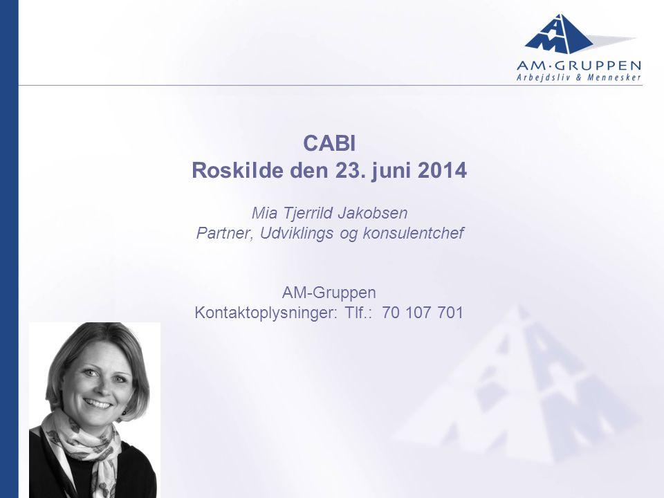 CABI Roskilde den 23.