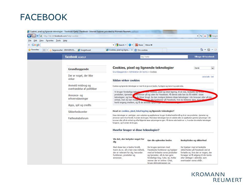 FACEBOOK Og så går det alligevel helt galt for facebook….