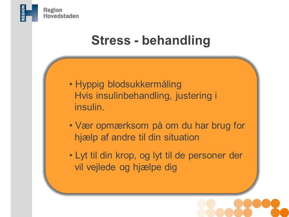 Tilstødende sygdomme og stress - ppt download