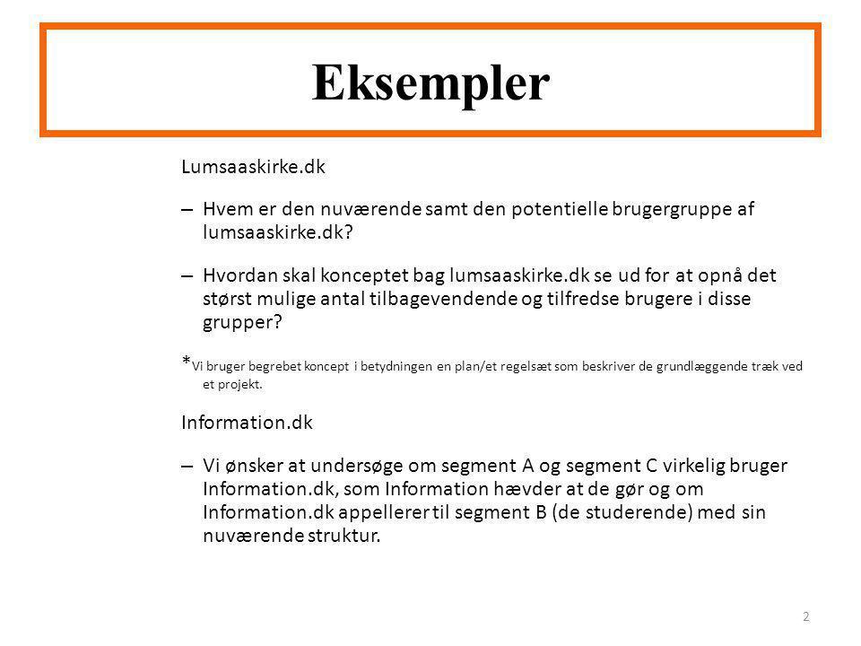 Eksempler Lumsaaskirke.dk