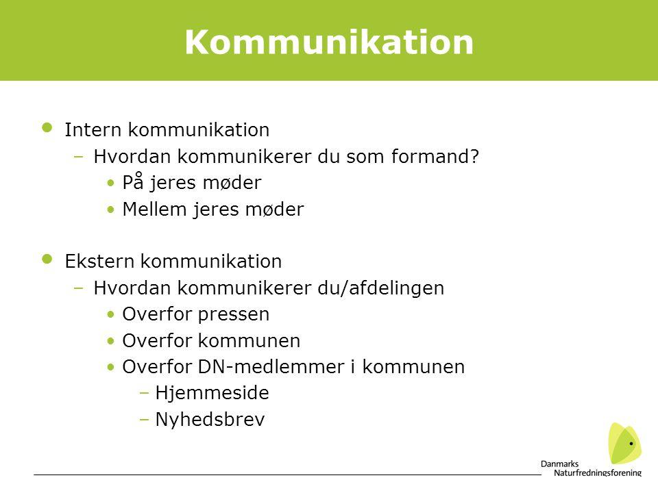 Kommunikation Intern kommunikation