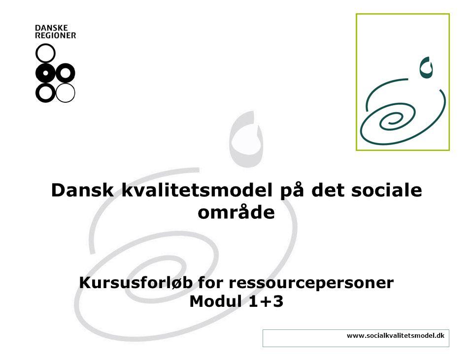 Dansk kvalitetsmodel på det sociale område
