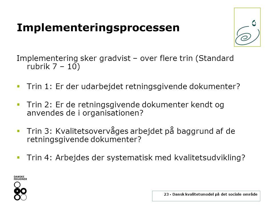 Implementeringsprocessen