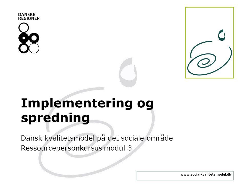 Implementering og spredning