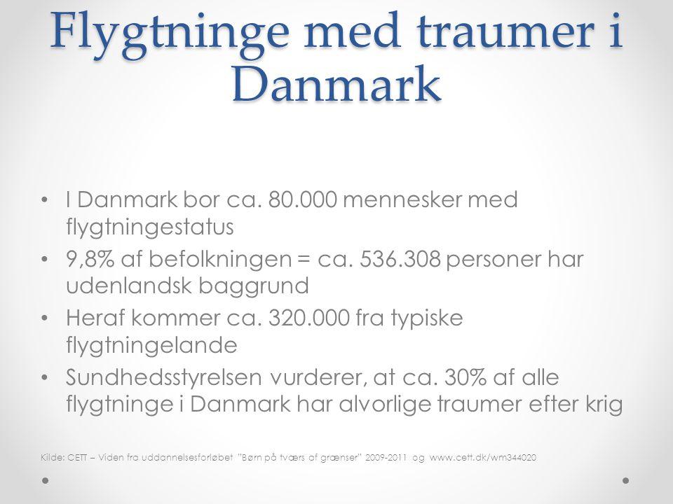 Flygtninge med traumer i Danmark