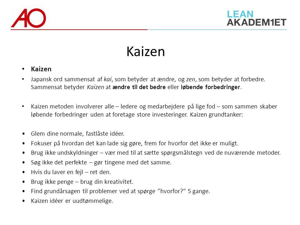 Kaizen Kaizen.