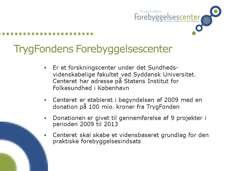 TrygFondens Forebyggelsescenter