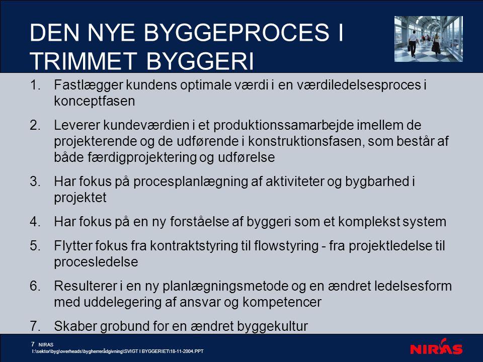 DEN NYE BYGGEPROCES I TRIMMET BYGGERI
