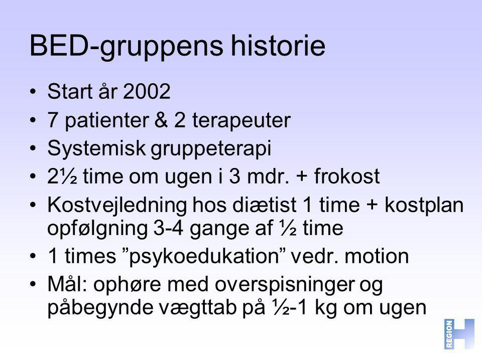 BED-gruppens historie