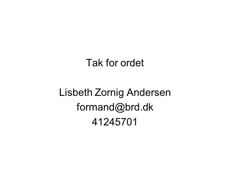 Lisbeth Zornig Andersen