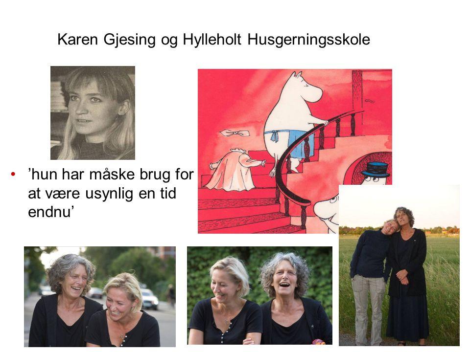 Karen Gjesing og Hylleholt Husgerningsskole