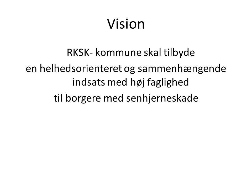 Vision RKSK- kommune skal tilbyde