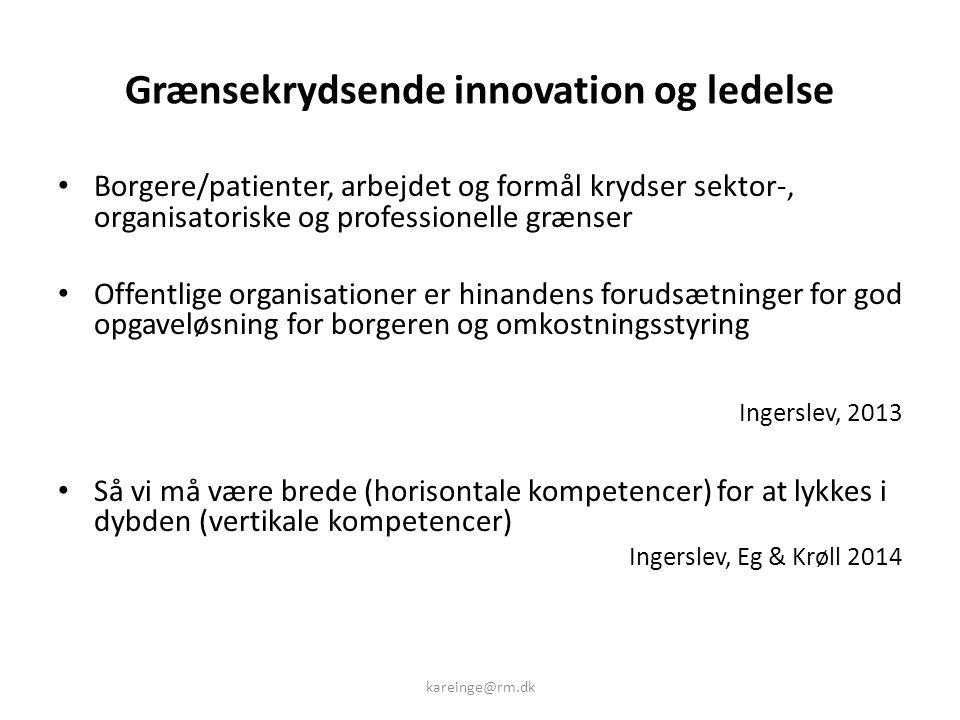 Grænsekrydsende innovation og ledelse