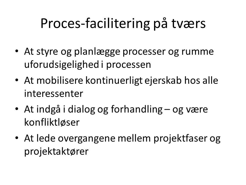 Proces-facilitering på tværs