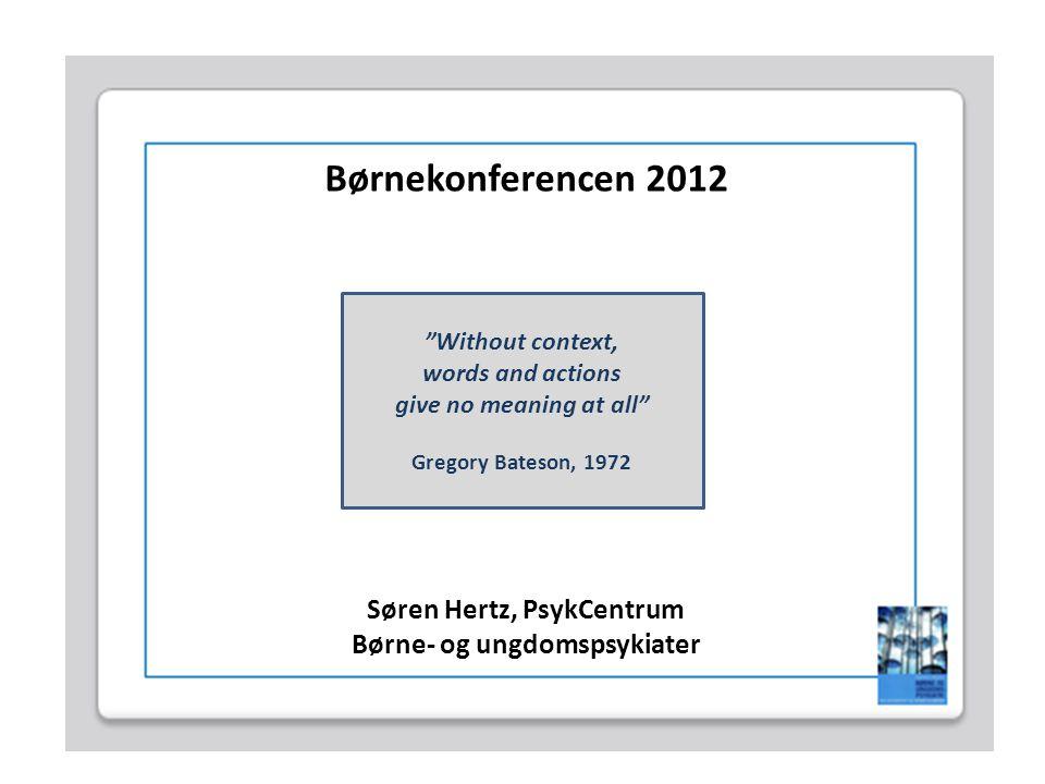 Søren Hertz, PsykCentrum Børne- og ungdomspsykiater