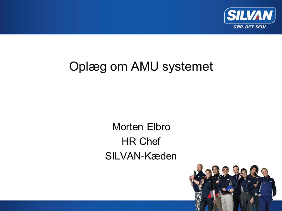 Morten Elbro HR Chef SILVAN-Kæden