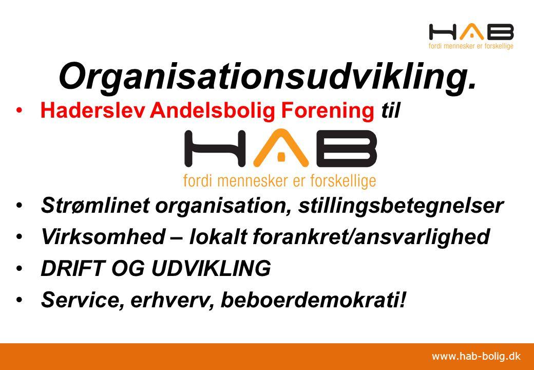 Organisationsudvikling.