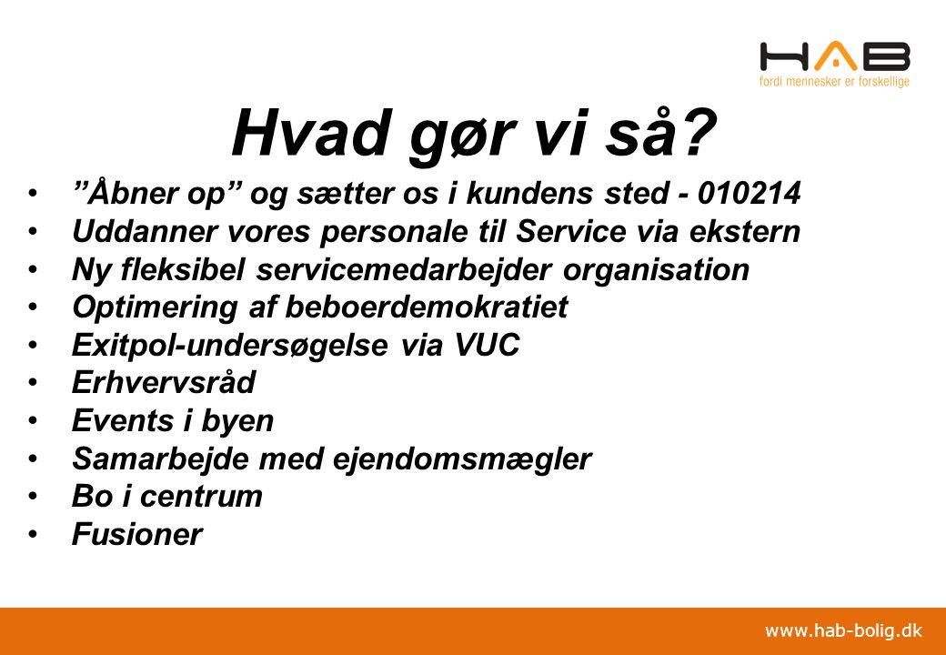 Hvad gør vi så Åbner op og sætter os i kundens sted - 010214