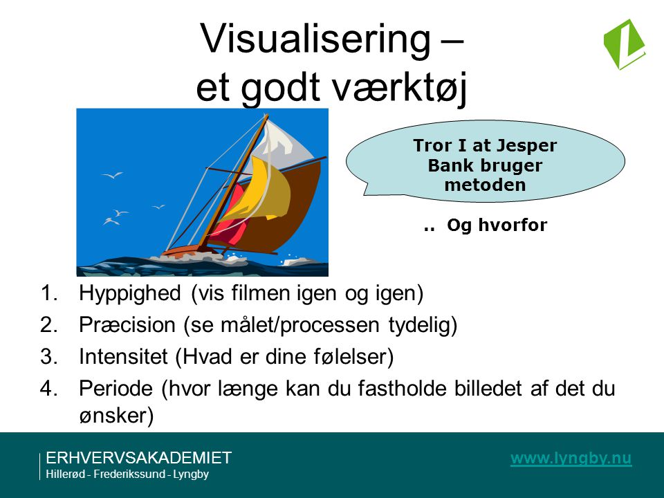 Visualisering – et godt værktøj