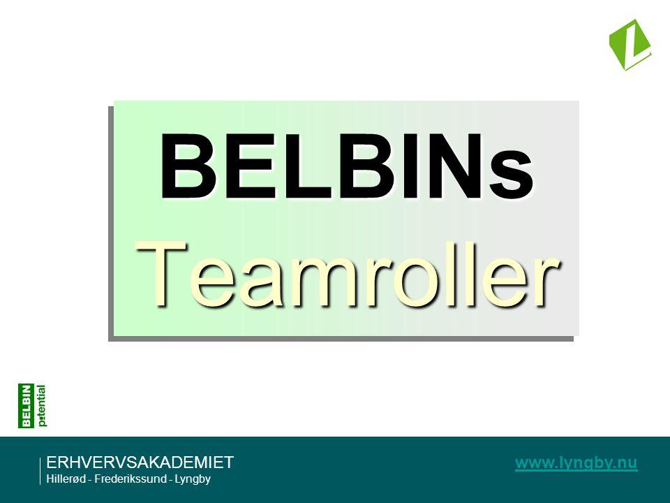 BELBINs Teamroller