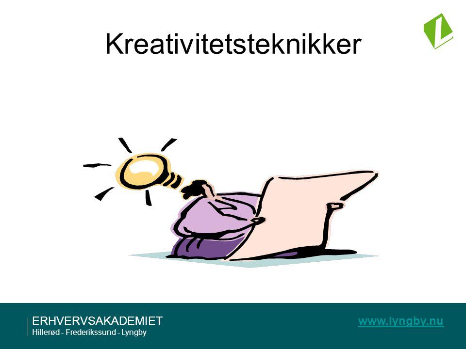 Kreativitetsteknikker