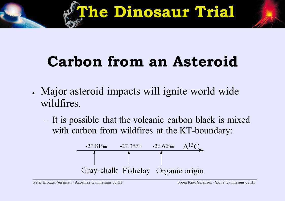 Carbon from an Asteroid