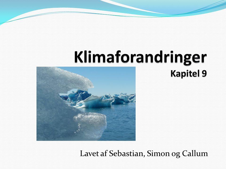 Klimaforandringer Kapitel 9
