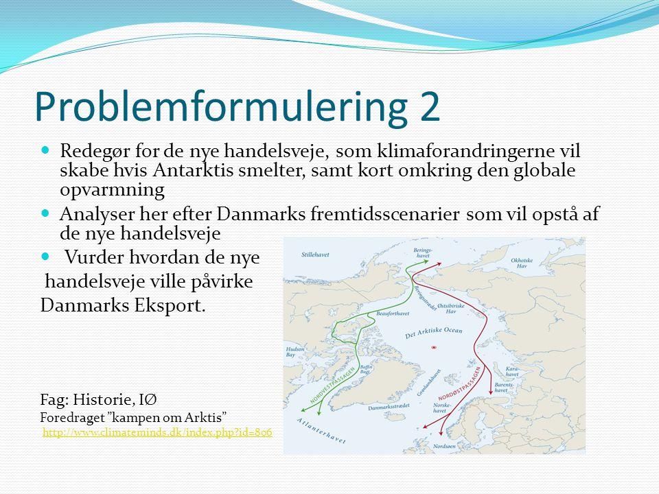 Problemformulering 2