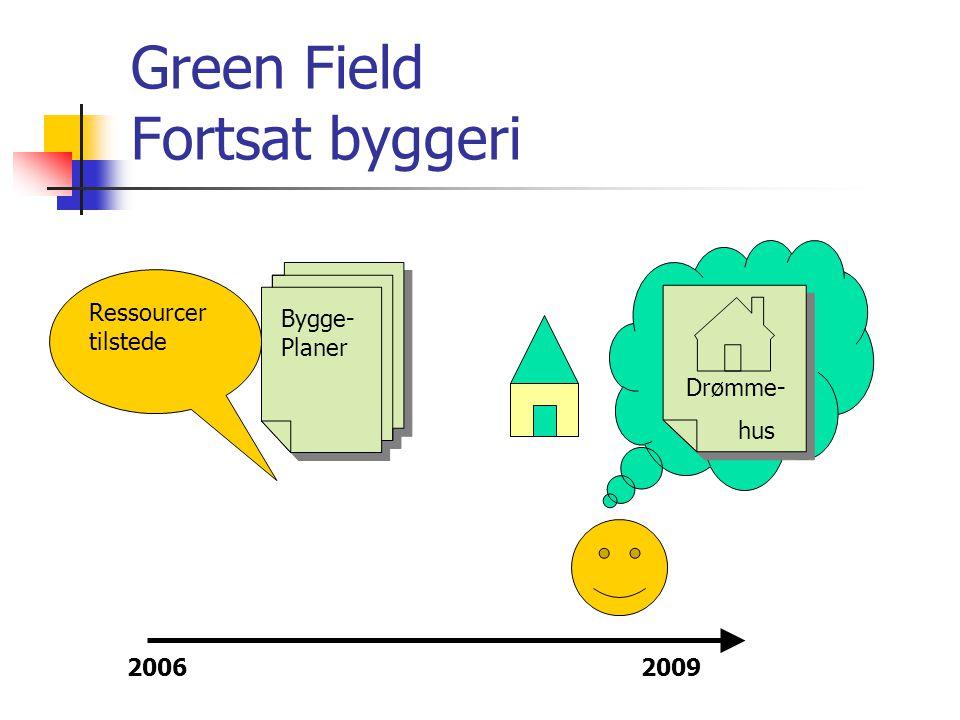 Green Field Fortsat byggeri