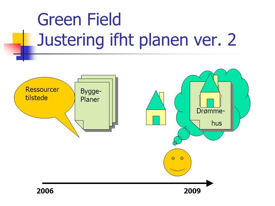 Green Field Justering ifht planen ver. 2