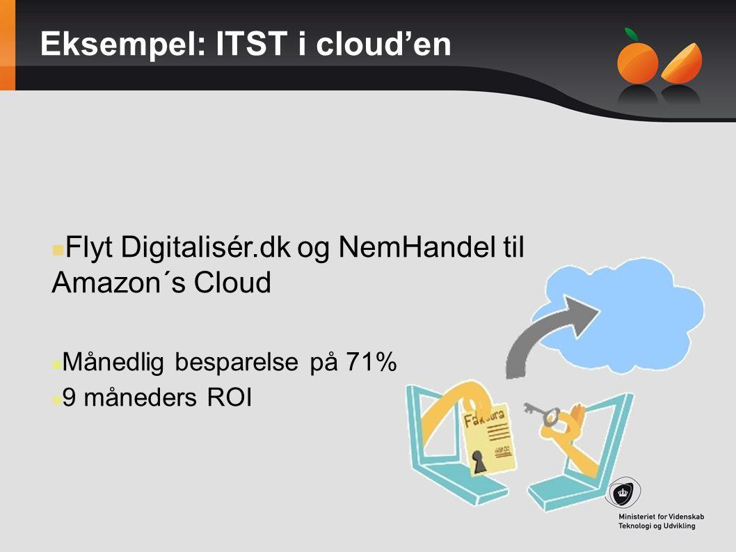 Eksempel: ITST i cloud'en