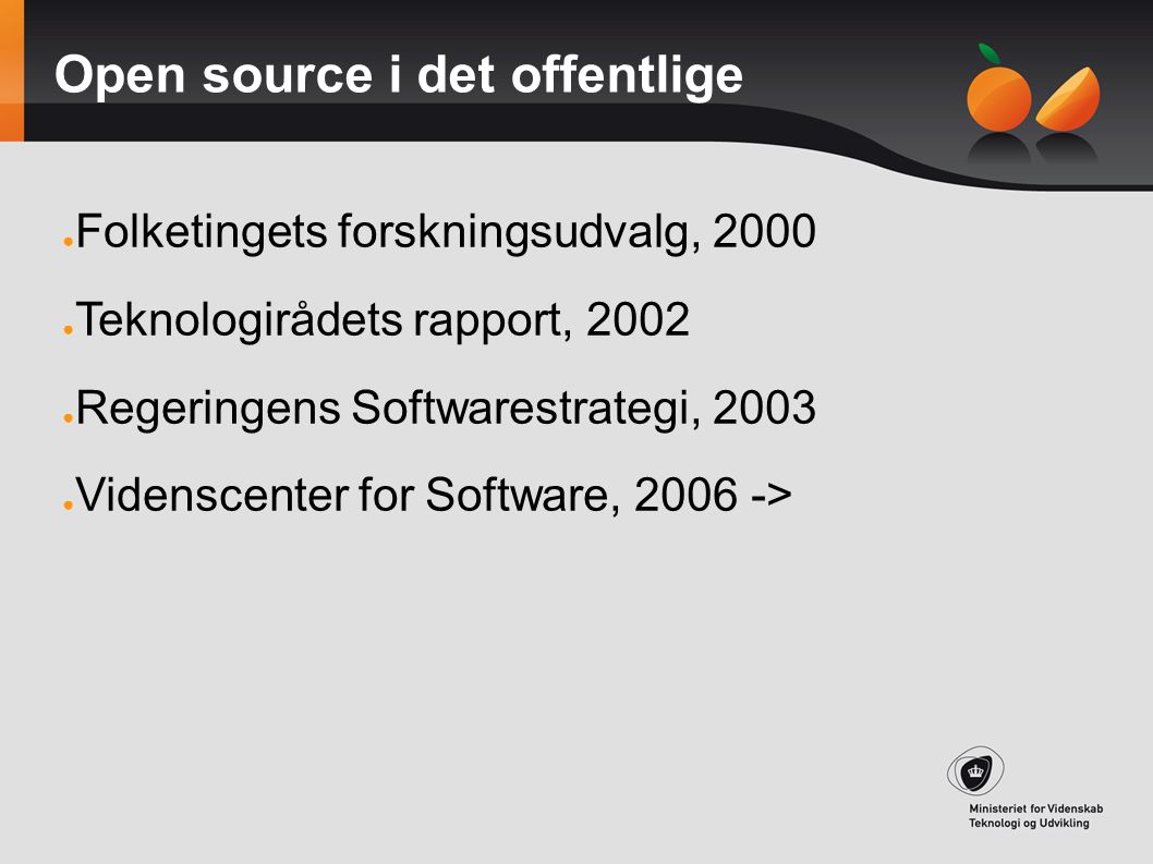 Open source i det offentlige