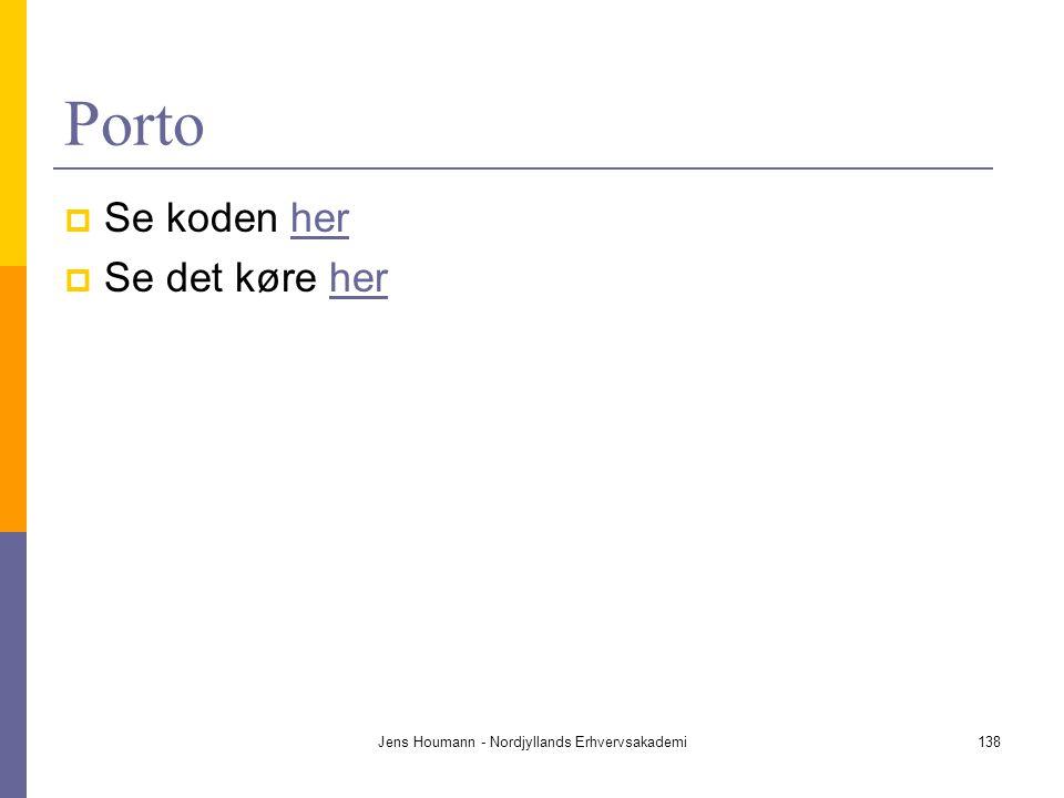 Jens Houmann - Nordjyllands Erhvervsakademi