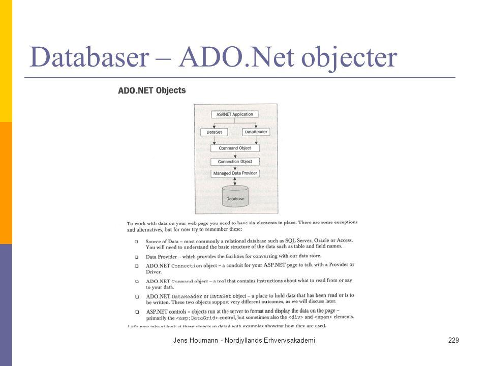 Databaser – ADO.Net objecter