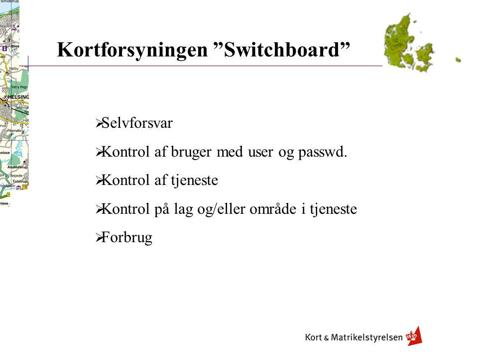Kortforsyningen Switchboard