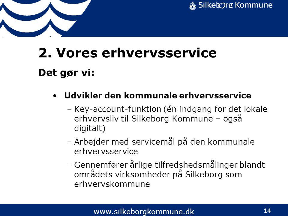 2. Vores erhvervsservice