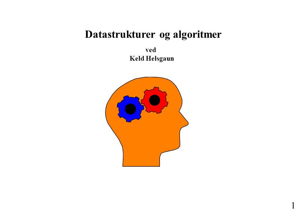 Datastrukturer og algoritmer