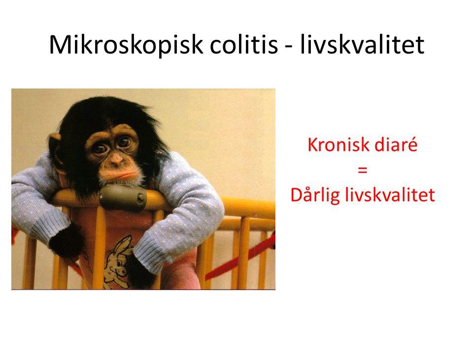 Mikroskopisk colitis - livskvalitet
