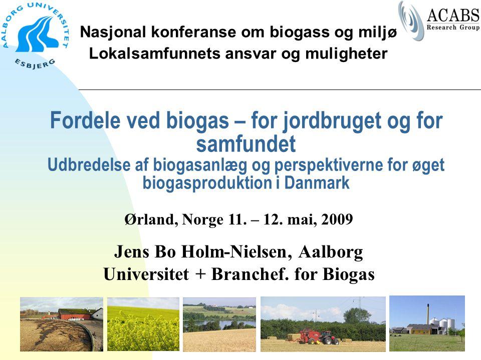 Nasjonal konferanse om biogass og miljø