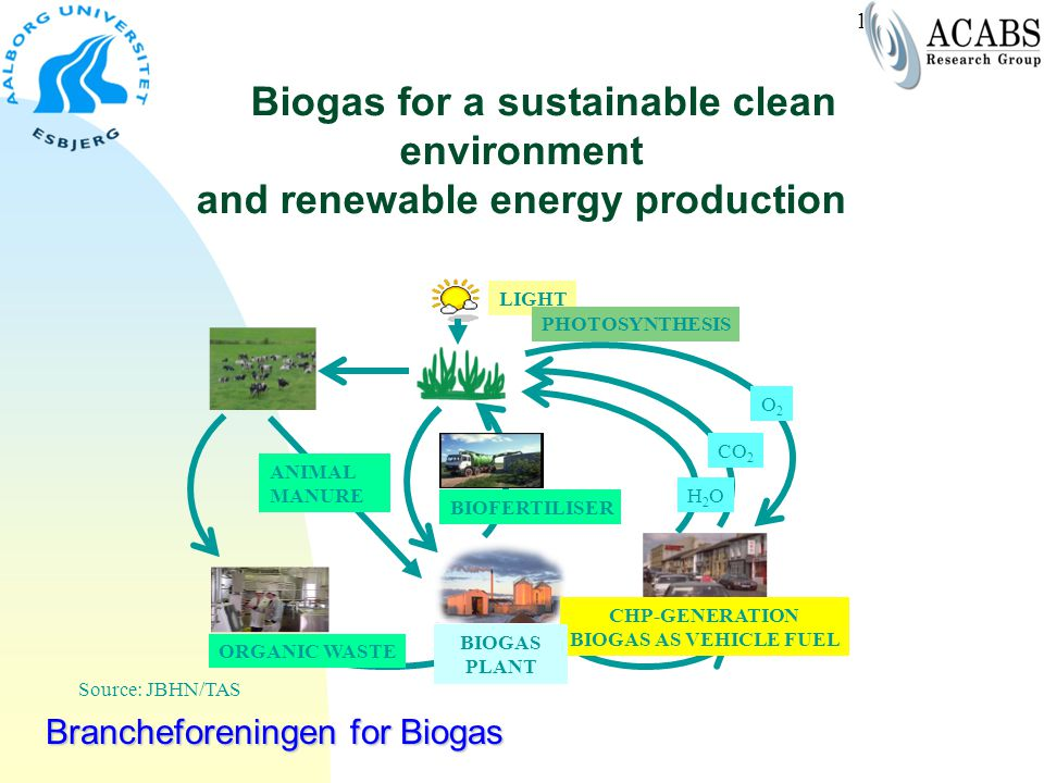Biogas for a sustainable clean environment