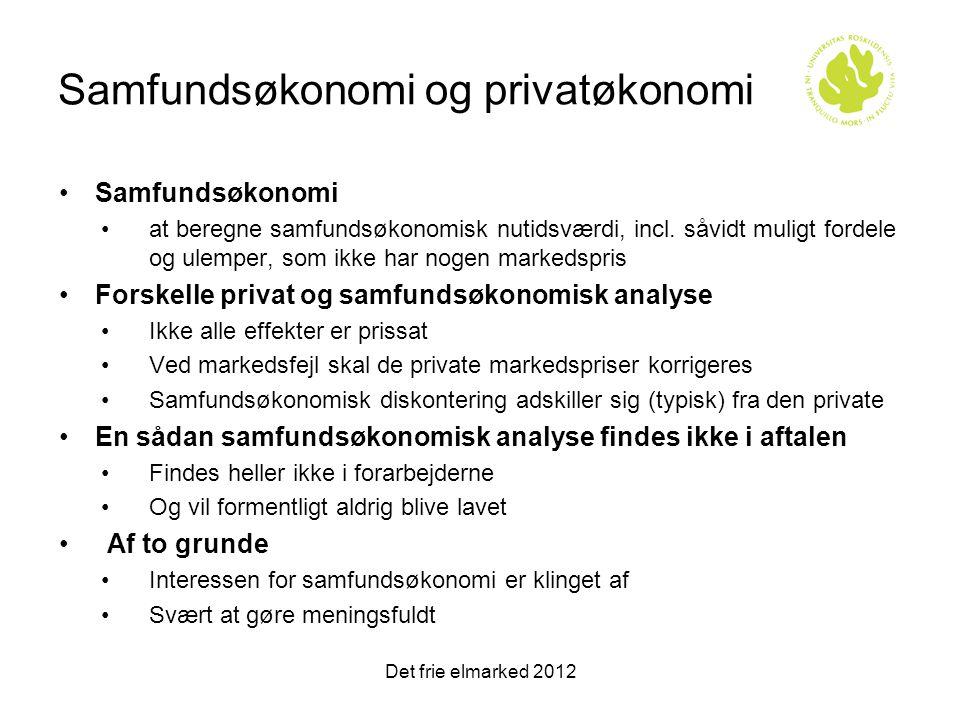Samfundsøkonomi og privatøkonomi