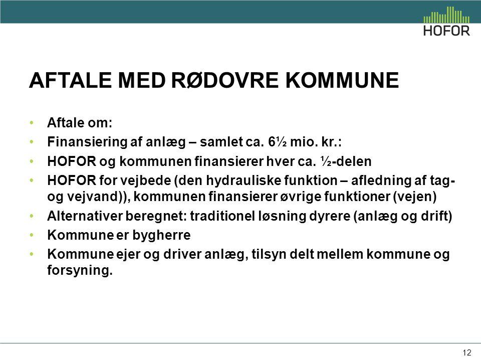 Aftale med Rødovre kommune