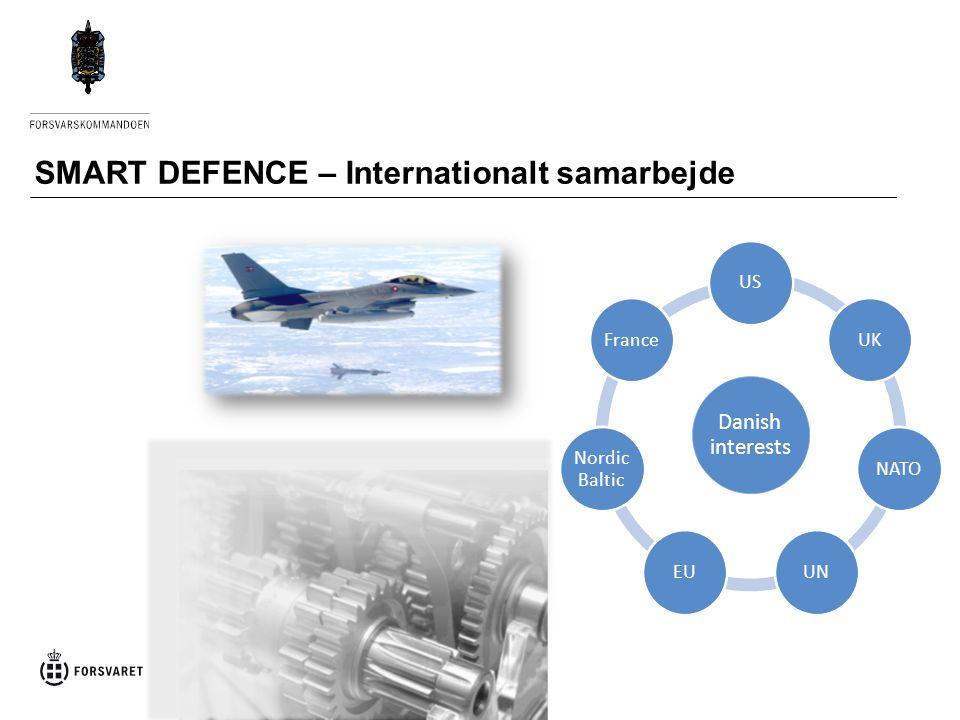 SMART DEFENCE – Internationalt samarbejde