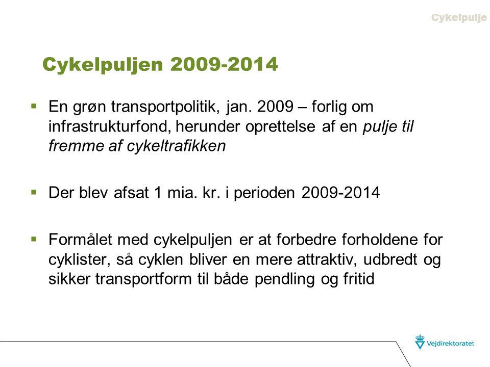 Cykelpulje Cykelpuljen 2009-2014.