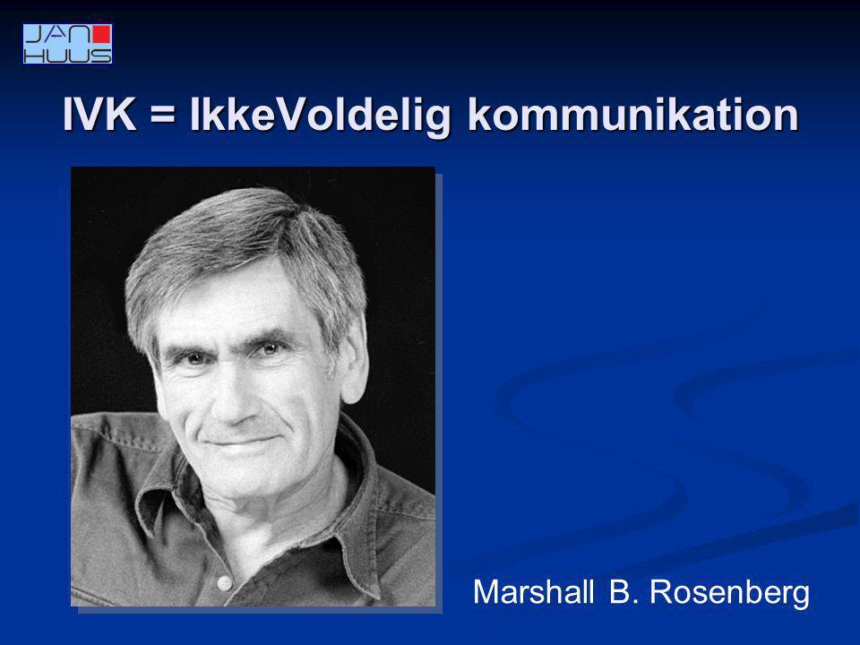 IVK = IkkeVoldelig kommunikation